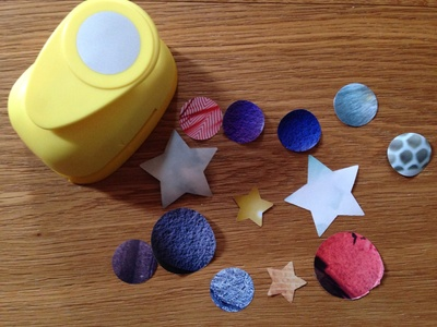 Stars and planets craft, space craft for preschoolers, kids space craft ideas