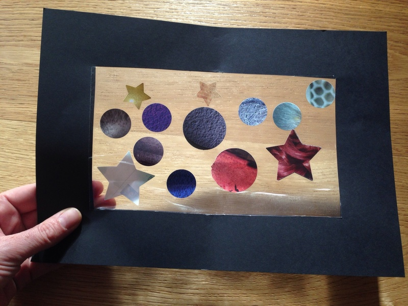 Charming Space Craft Ideas For Kids Part - 7: Stars And Planets Craft, Space Craft For Preschoolers, Kids Space Craft  Ideas - Stars And Planets Window - Image 6
