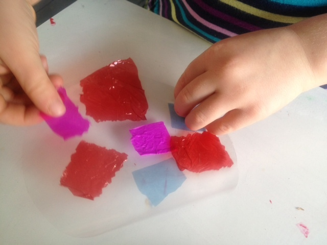 Suncatcher Craft For Toddlers