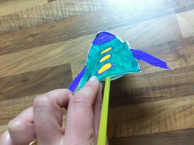 glue rocket craft
