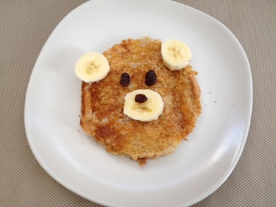teddy bear, toast, toddler, preschool, snack