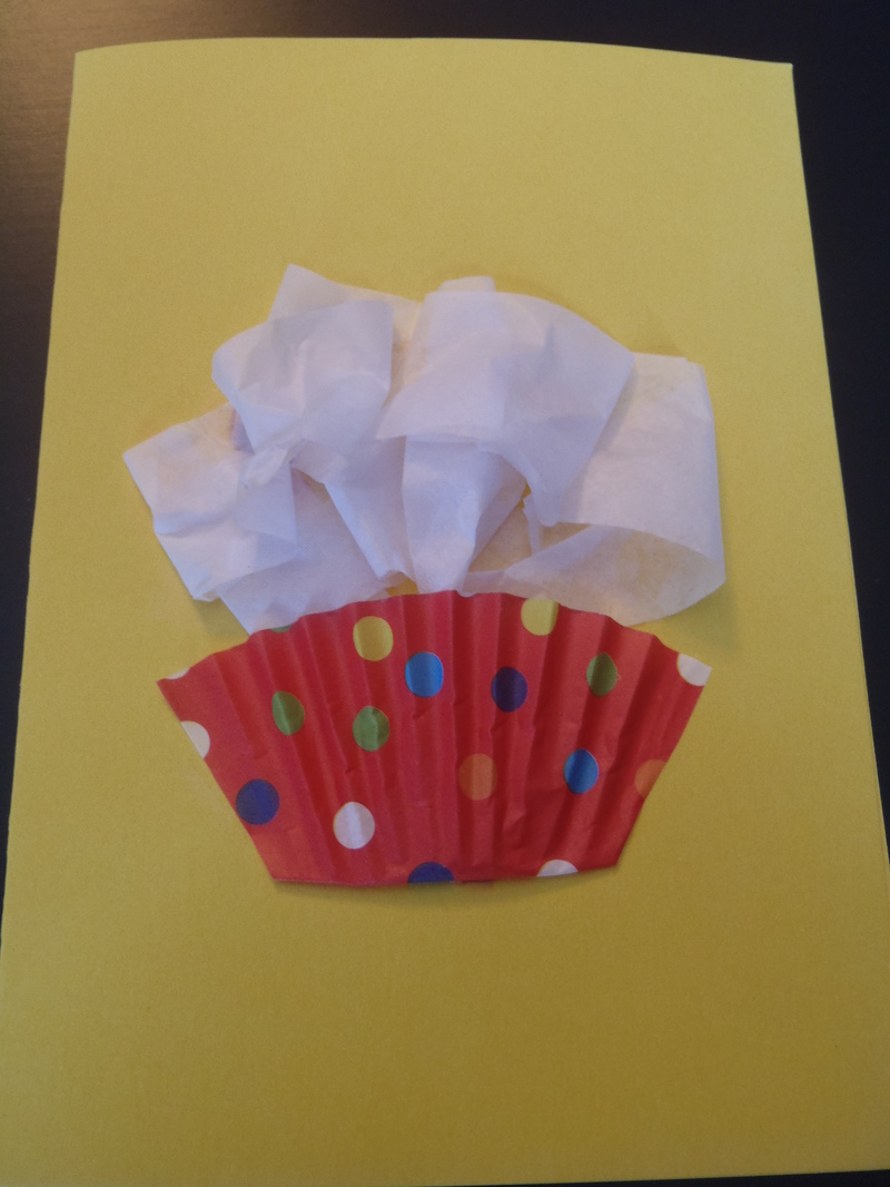 Finished card  - Cupcake Birthday Cards