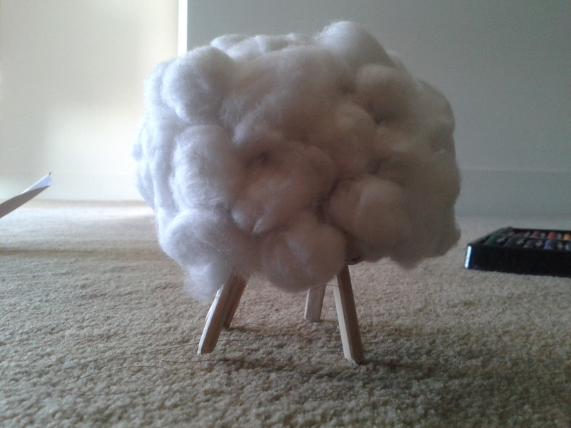 Simple Craft Sheep
