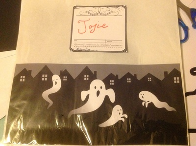 name labels, spooky, hallowe'en