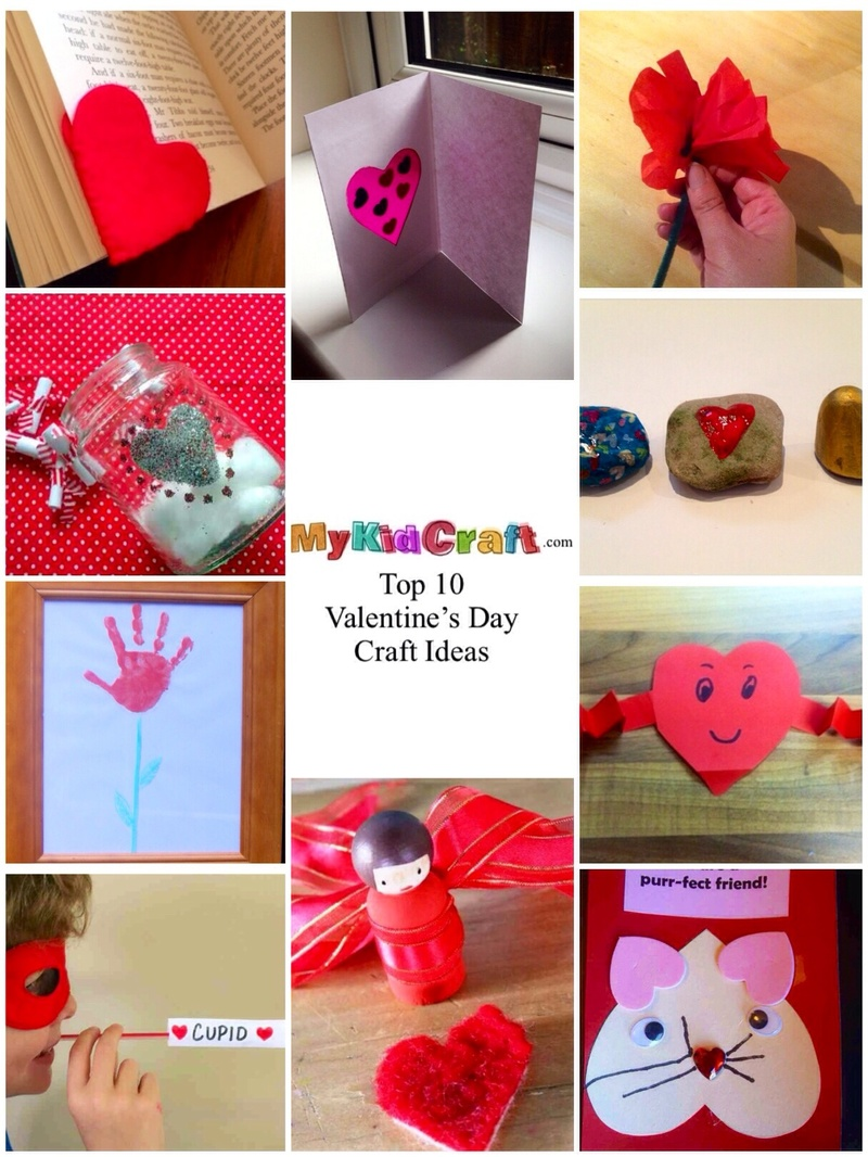 Top 10 kids crafts for valentine 39 s day my kid craft for Toddler valentine craft ideas