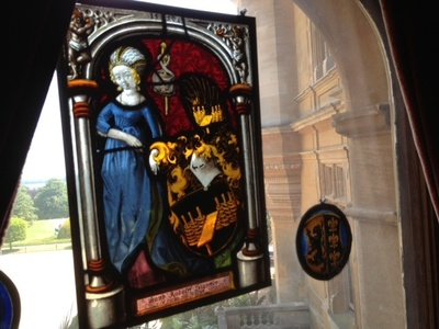 Waddesdon manor, stained glass, preschool