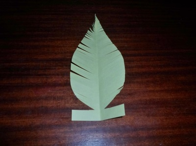 yellow paper feather
