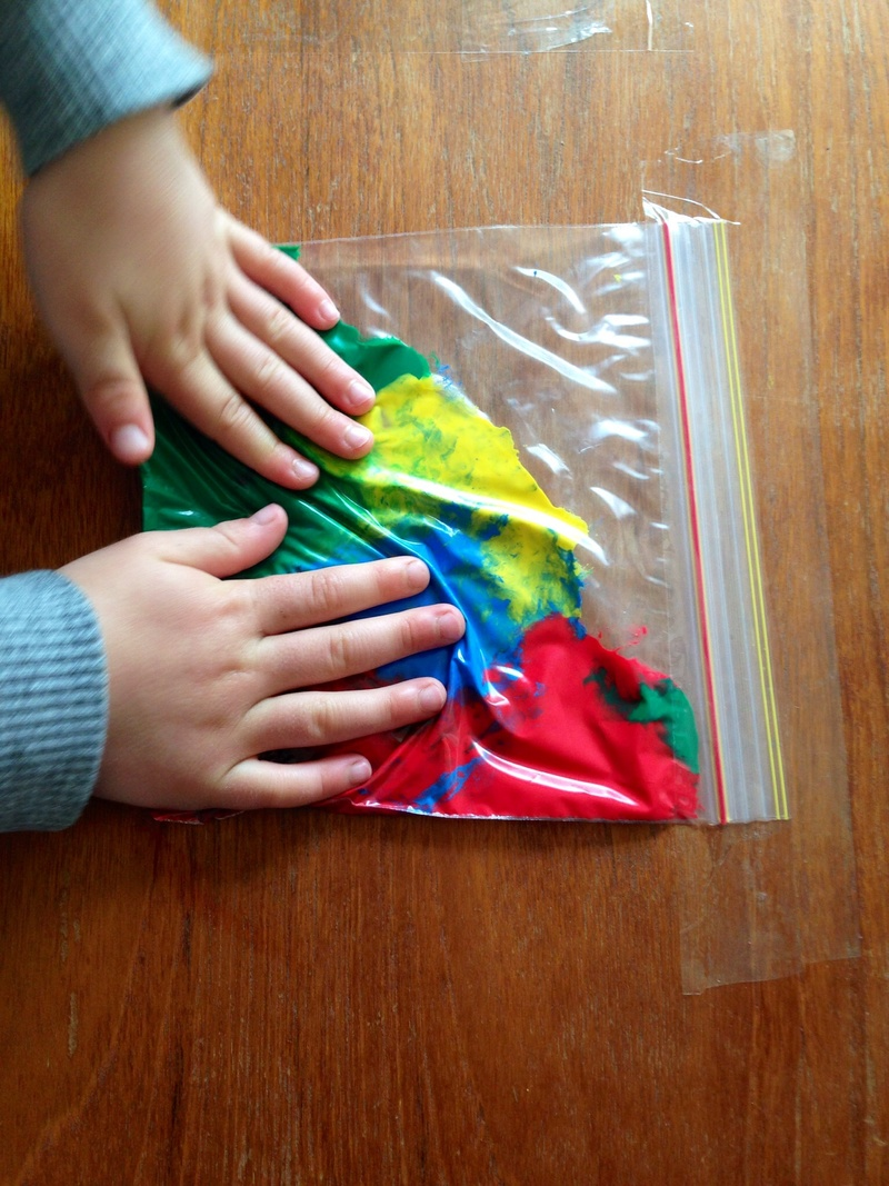 Squidgy Rainbow Bags My Kid Craft