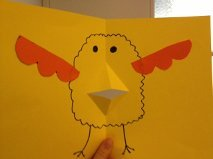 Baby Chick Greeting Card