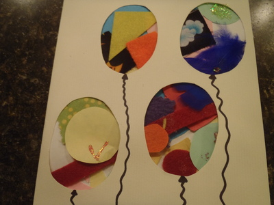 Balloon with string