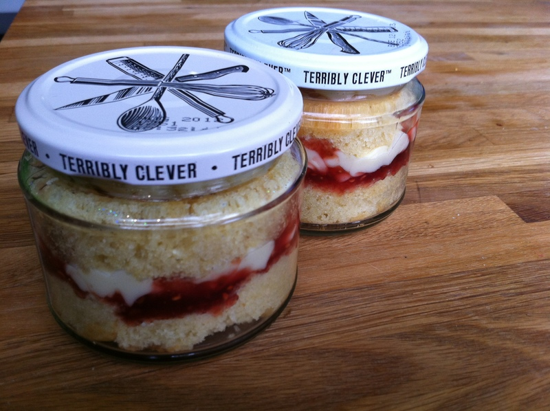 Cake, present, post able, treat, jar, mother's day, birthday, Valentine's day, all ages, quick, edible gifts   - Cake In A Jar