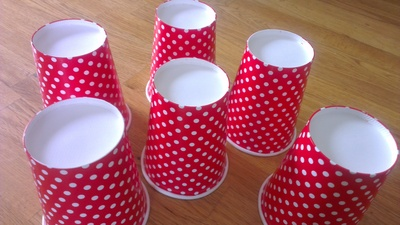 Christmas Tree, Stacking Christmas Tree, Paper Cups, Toddler Activity