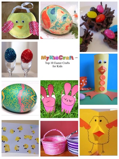 Easter crafts for kids, kids craft ideas Easter, Easter crafts, top 10 craft ideas for Easter
