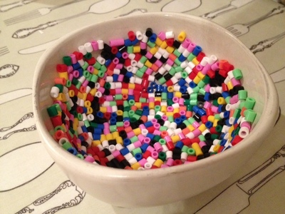 Hama bead, bowl, melt, craft, present