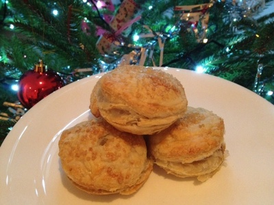 Mince pie, puff pastry, Christmas, toddler, preschool