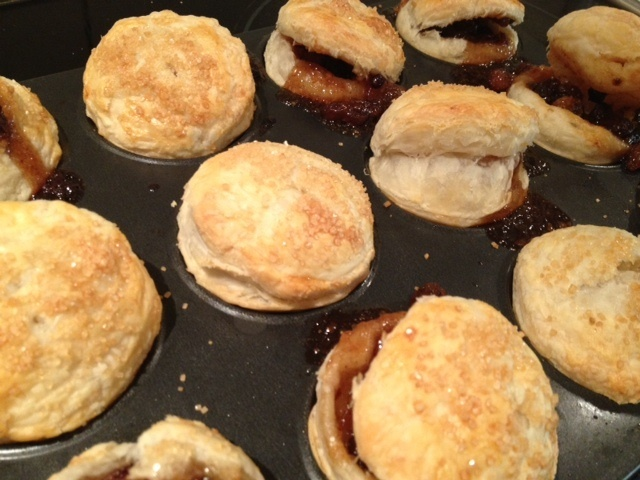 Mince pie, puff pastry  - Puff Pastry Mince Pies