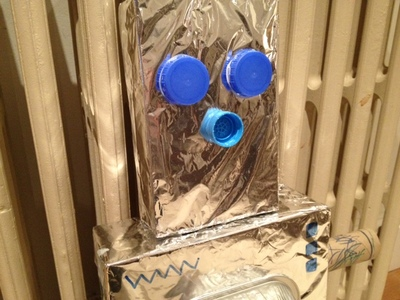 Robot, Box, craft, Toddler, homemade, preschool