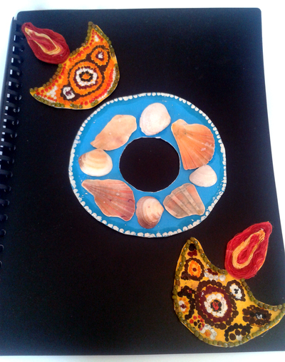 Aboriginal Art Folder Cover