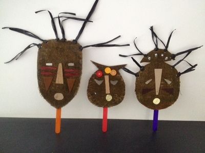 african mask, african mask craft, african masks kids craft, african mask art, african mask cardboard jute, make your own african mask