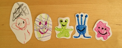 Alien, straw, shooter, preschool, game