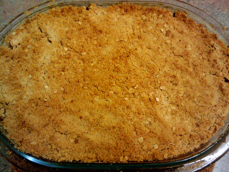 Baked Apple Crumble  - Quick and Delicious Apple Crumble