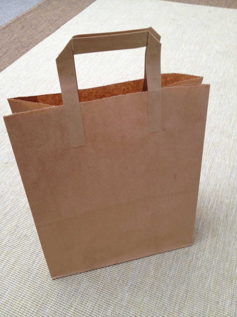 Brown paper bag  - Hungry Monster Colour Matching Game