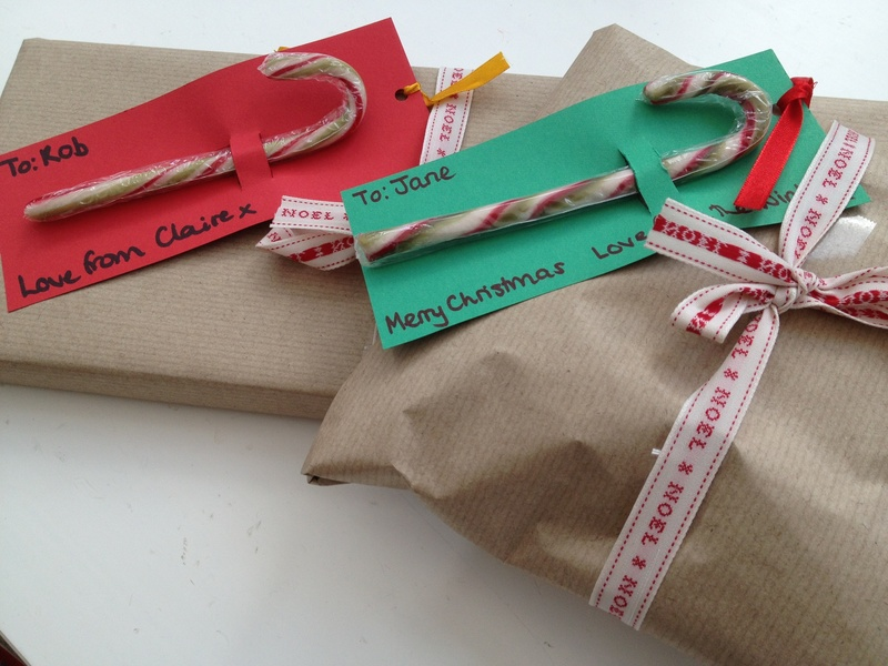 Candy cane, gift tag, present, Christmas   - Candy Cane Gift Tags