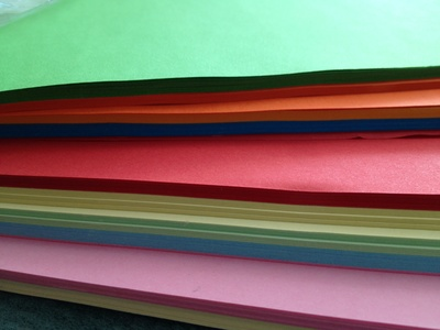 Colour paper, craft, supplies