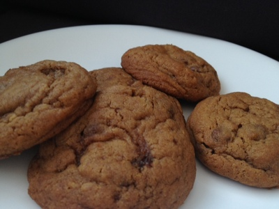 cookies, choc chips, toddler, preschool, baking, simple