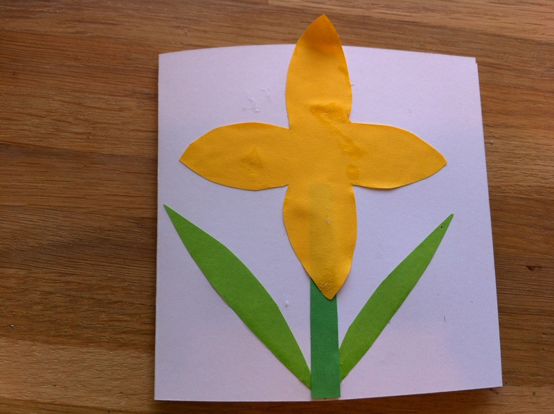 daffodil, paper craft, cards, Easter, Mothers day, egg box  - Daffodil Cards