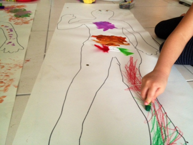 decorate your own body kids craft easy fun cheap  - Bright Bodies