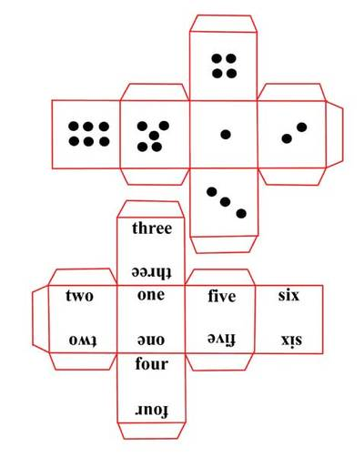 dice,numbers,game,paper dice