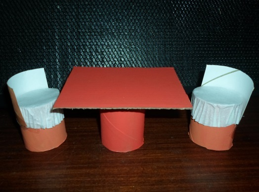 Doll's Table and Chairs