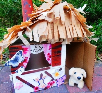 doll's cubby house