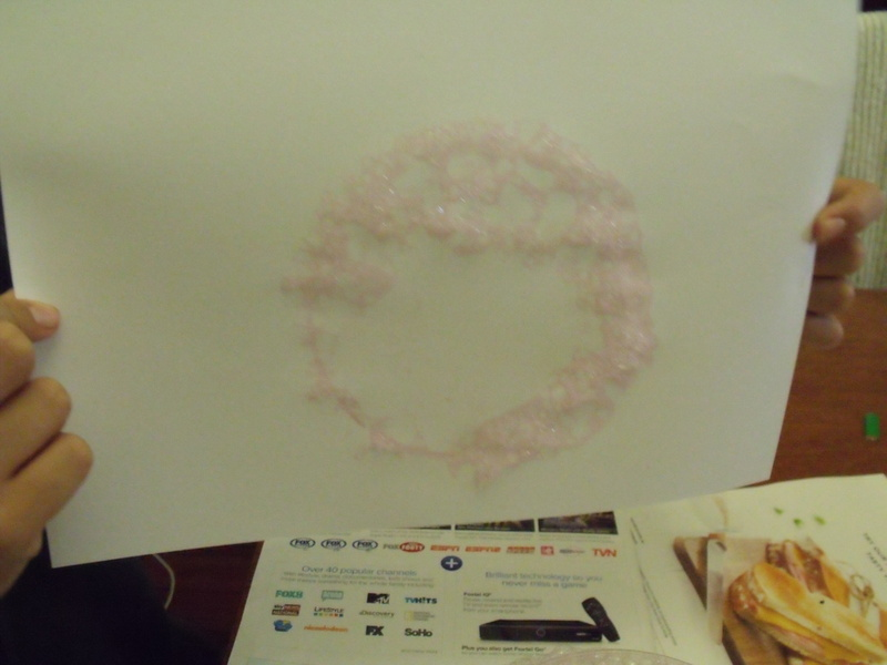 Bubble Blowing Printing