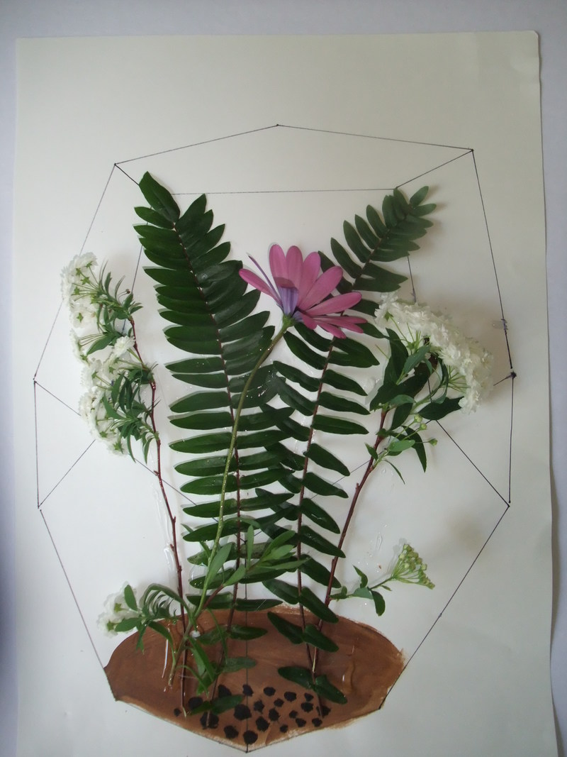 Pressed Leaf Terrarium