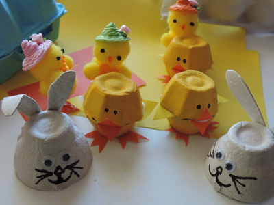 Image result for recycled easter crafts
