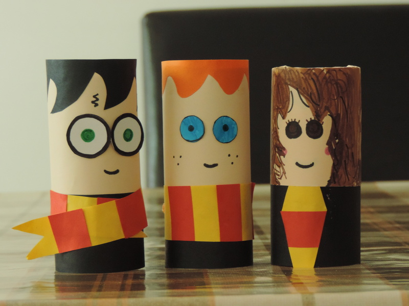 Harry Potter Toilet Rolls My Kid Craft