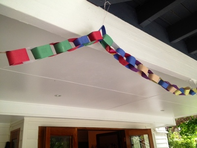easy paper chains kids craft party