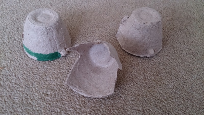 egg carton crafts, alien crafts, egg carton aliens, easy crafts for kids, recycled materials crafts  - Egg Carton Aliens