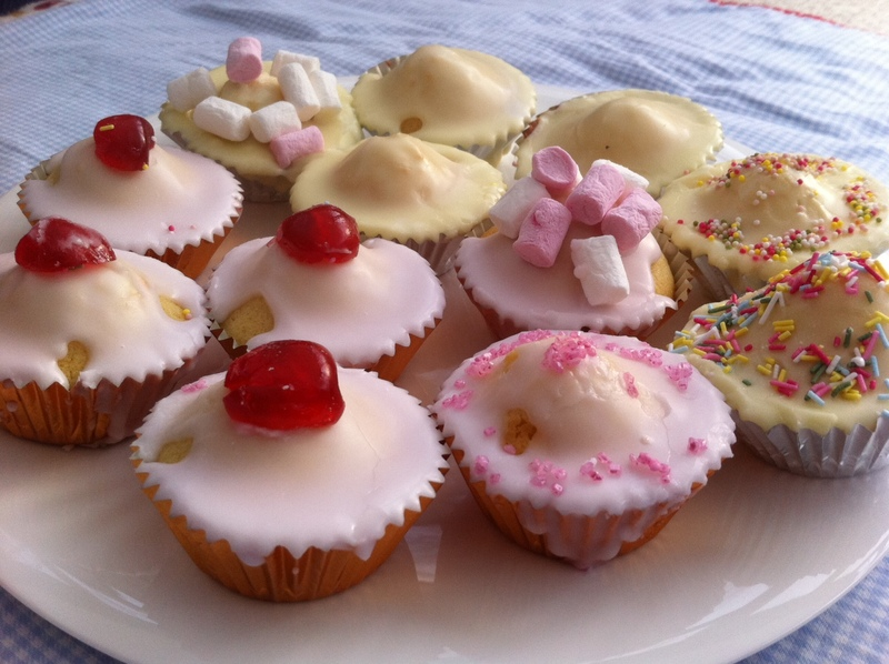fairy cake, cup cake, icing, decoration, kids, baking, cooking, birthday party  - Fairy Cakes
