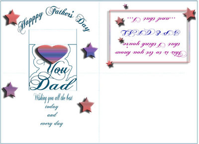 father's day card,printables