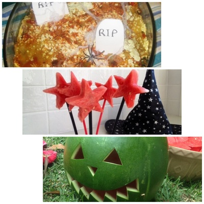 Halloween, healthy, food, party