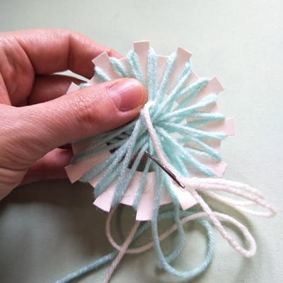 How to make a loom flower
