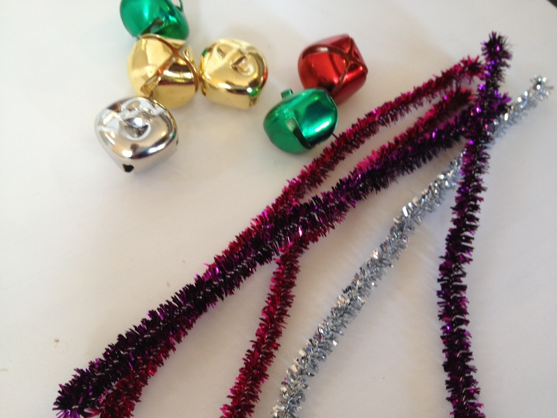 icicle, decoration, pipe cleaner, preschool, Christmas  - Jingly Icicles