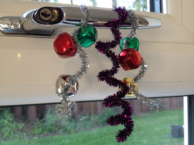icicle, decoration, pipe cleaner, preschool, Christmas