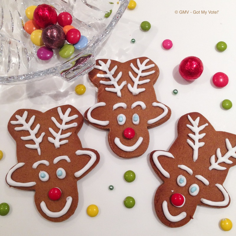 Christmas Kiddy Gingerbread Rudolph Reindeer