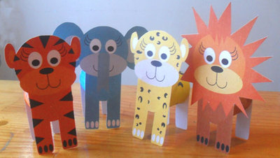 jungle animals,jungle printables