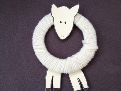 Lamb, wool, Easter, preschool