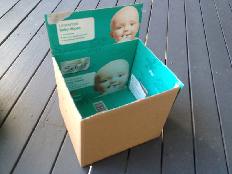 nappy boxes, what to make from nappy boxes  - Pirate Treasure Chest
